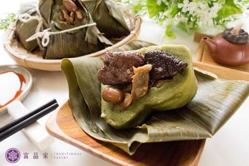 富品家碧綠粿粽
