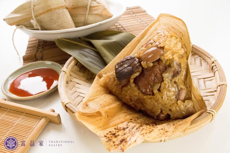 端午限定-古早味肉粽-無蛋黃 (含運組)