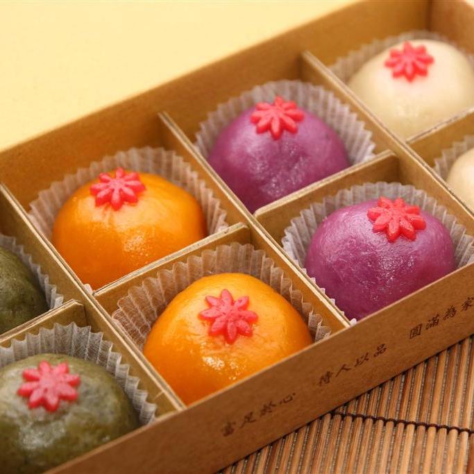 4味綜合米果子  /8入精緻禮盒裝